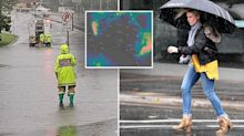 Torrential rain pummels the east coast – but it's just the beginning