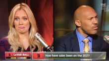 LaVar Ball tells FS1 host to 'stay in [her] lane' during testy interview