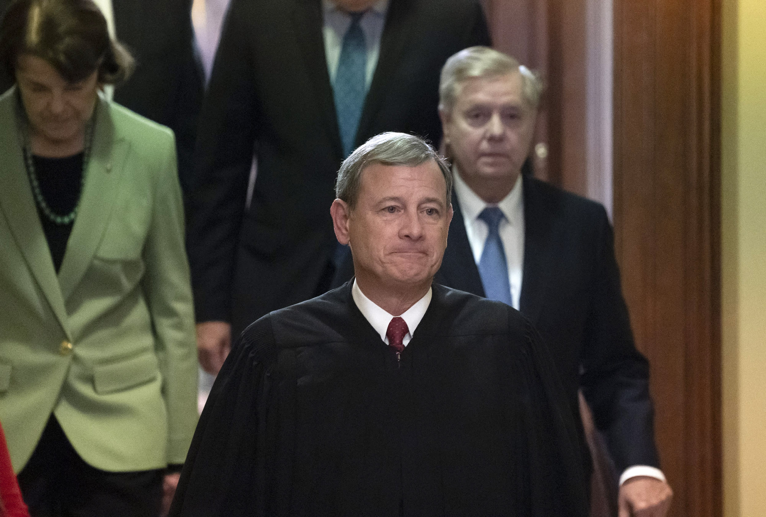 Pence criticizes Chief Justice Roberts, says court's future 'on the ballot in 2020'