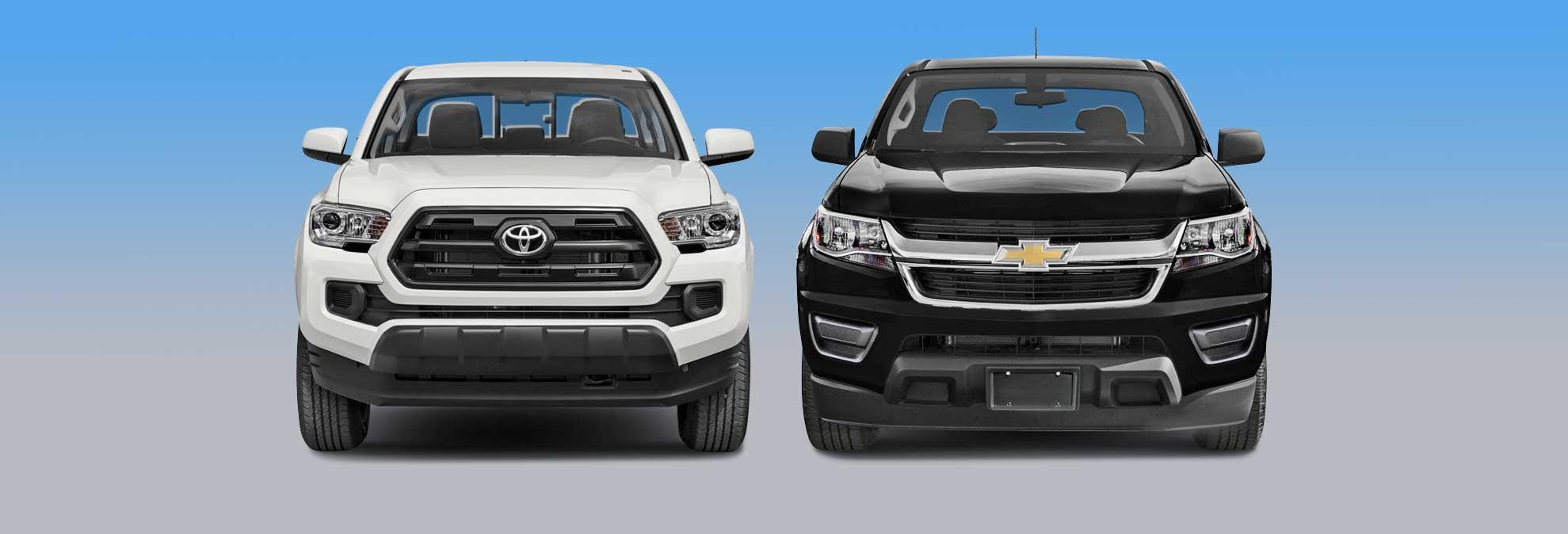 chevrolet colorado vs toyota tacoma which should you buy. Black Bedroom Furniture Sets. Home Design Ideas