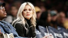 Khloe Kardashian slammed for wearing 'love thy racist neighbour' T-shirt