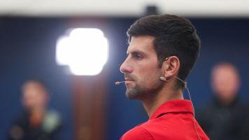 No longer stranded, Djokovic to host Balkan event