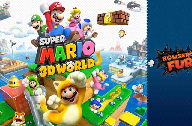 'Super Mario 3D World' gets a second chance on the Switch