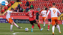 Report: Lincoln 2 Blackpool 2