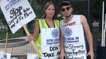 CNE kicks off behind a picket line as labour dispute looms large