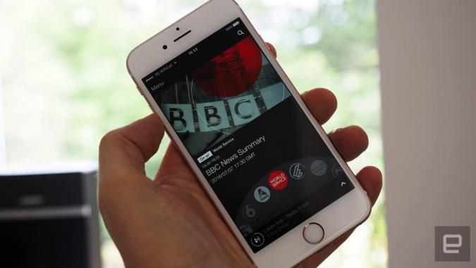 The BBC's iPlayer Radio app is going global