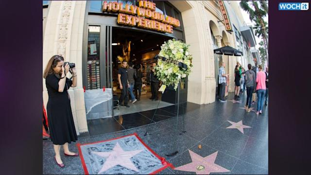Shirley Temple's Hollywood Star In Storage