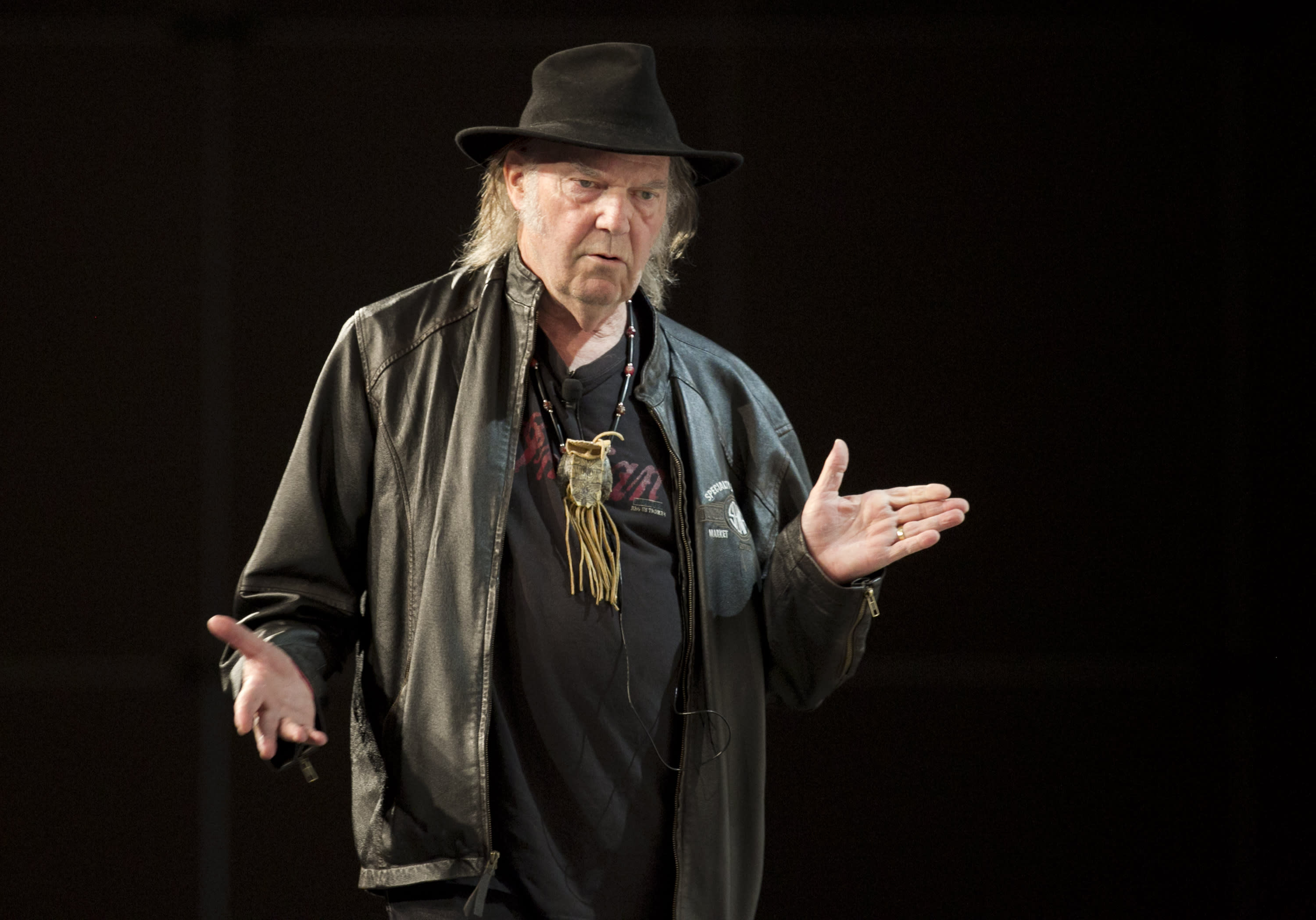 Neil Young brings his digital music vision to SXSW