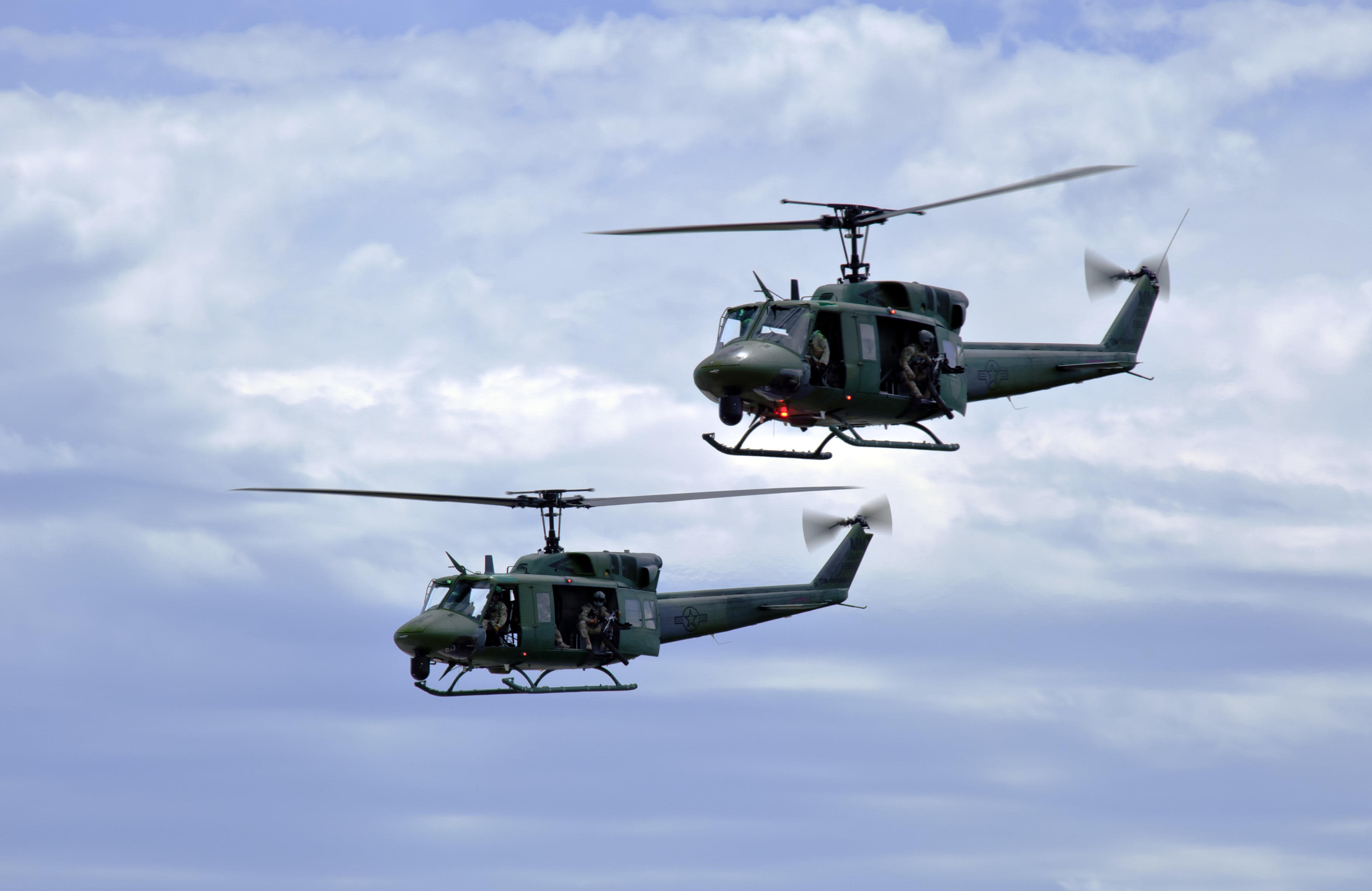 Bullet strikes Air Force helicopter flying over Virginia