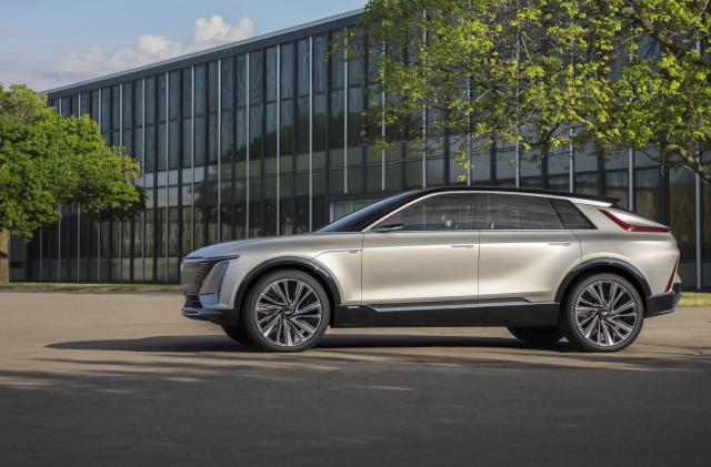 Cadillac jumps into the EV market with its 'Lyriq' crossover