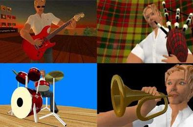 Music Thing: Music and audio gear in Second Life
