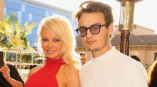 Pamela Anderson's son recalls mom's curse-laden response to his dropping out of college