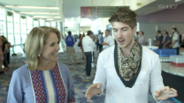 Katie Couric talks Vidcon with Joey Graceffa
