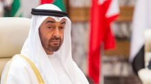 Abu Dhabi crown prince says committed to Palestinian state with East Jerusalem as its capital