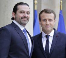 Macron welcomes Lebanon's Hariri to Elysee Palace: AFP