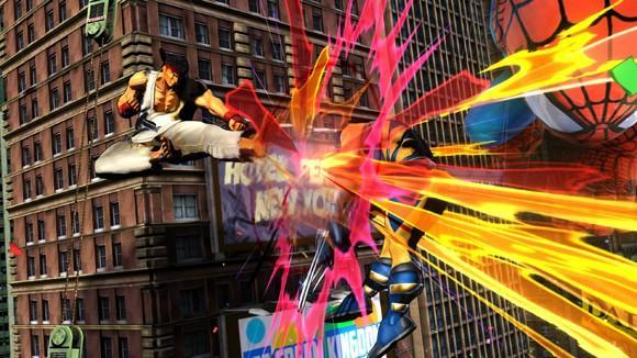 Marvel vs. Capcom 3 screens are light on the curleh mustaches