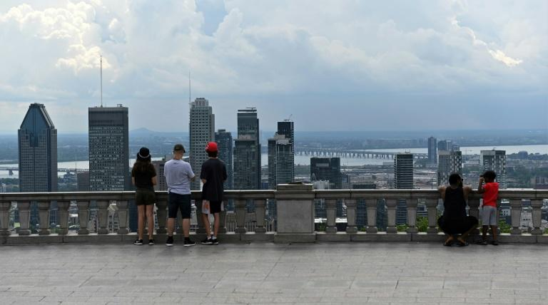 Montreal and its surroundings have been hard-hit by the pandemic with half of Canada's 9,000 coronavirus deaths (AFP Photo/Eric THOMAS)