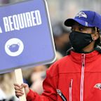 Ravens discipline coach for not reporting symptoms, consistently wearing a mask and tracker