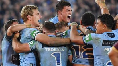 New South Wales Win Origin