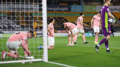 Sheffield United relegated from Premier League after defeat to Wolves