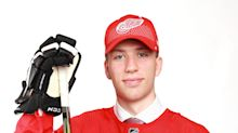 Detroit Red Wings loan their seventh prospect to an overseas league. Here's why