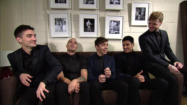 Live On Letterman Interview - The Wanted