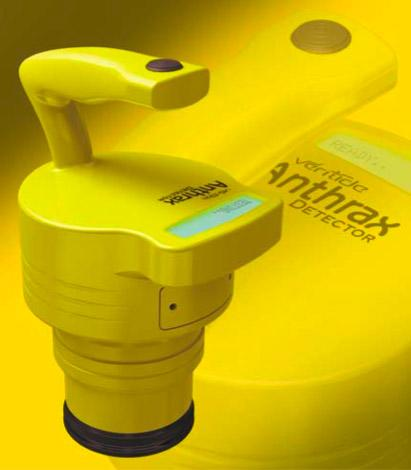Veritide Anthrax Detector comes in happy face yellow