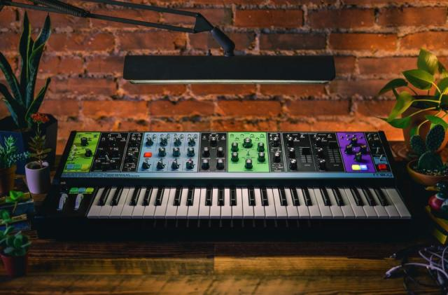 Moog's semi-modular Matriarch synth is shipping now