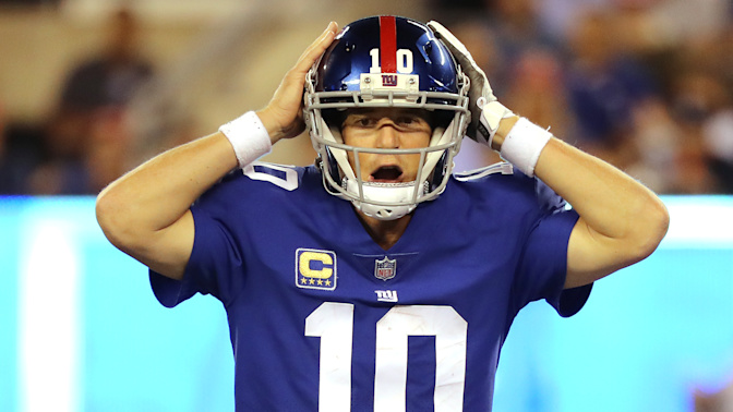 Giants offense sputters again in MNF loss