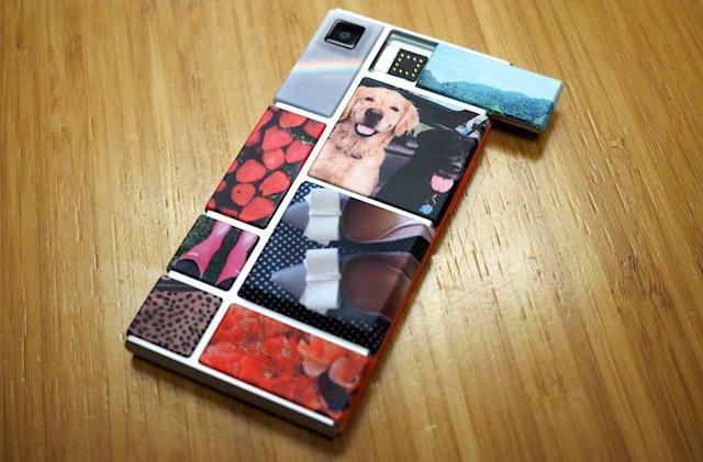 Google's Project Ara modular phone is reportedly suspended