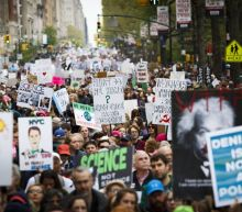 The science march is about 'hope' for a fact-based future