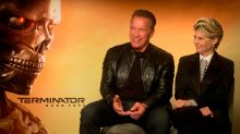 "EXCLUSIVA | Arnold Schwarzenegger y Linda Hamilton: ""Que Sarah Connor sea un ícono fue accidental"""