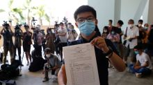 Democracy activist Joshua Wong launches bid for Hong Kong legislature