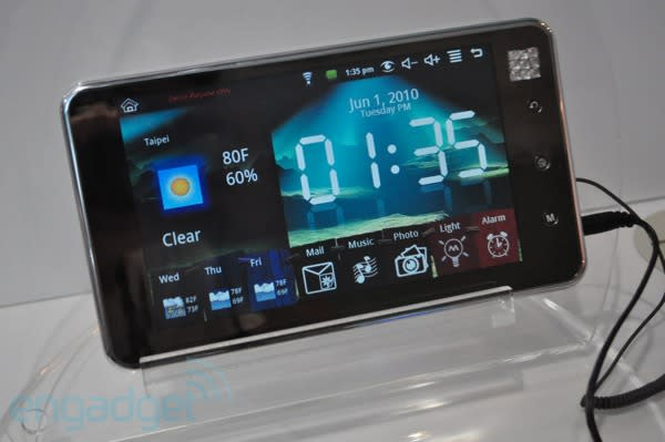 VIA's WonderMedia decorates Computex with ARM 9-powered, Android 1.6 tablets