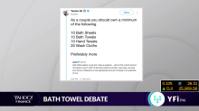 Twitter users debate: how many bath towels should you own?