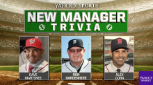 New Manager Trivia: We quizzed these new MLB managers on their teams
