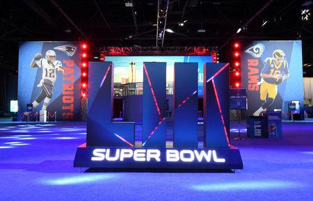 With helicopters and dogs, massive Super Bowl security in