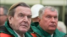 Ukrainischer Außenminister fordert Prüfung von Sanktionen gegen Gerhard Schröder