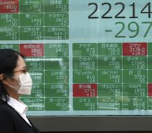 Asian markets fall as coronavirus toll hits grim milestones