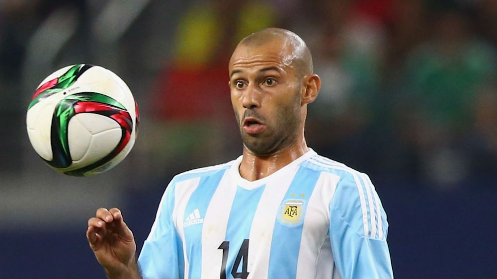 Mascherano to retire from internationals after 2018 World Cup