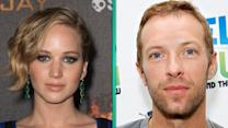 Jennifer Lawrence and Chris Martin Reunite While Gwyneth Paltrow Cozies Up to Brad Falchuk