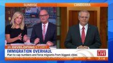 Scott Morrison explains new migration plan on Sunrise
