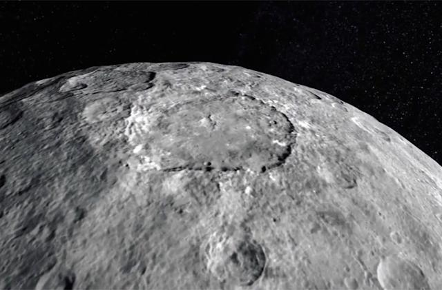 NASA shows what it would be like to fly over Ceres