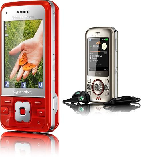 Sony Ericsson's W395 Walkman and C903 Cybershot bring more of the same