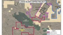 Palamina Samples High Grade Silver-Copper-Lead Mineralization at Lagos Project in South-Eastern Peru