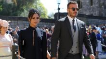 Victoria Beckham pokes fun at her 'miserable' Royal wedding face with cheeky Instagram post: 'When you're smiling on the inside'