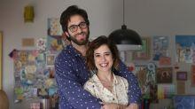 Rafinha Bastos e Paloma Duarte vivem casal em nova série de comédia no Multishow
