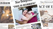 'UNENDING HORROR': Newspapers cover massacre in Sutherland Springs