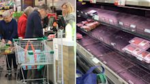 'No meat on the shelves': Supermarket warns of impending food shortages