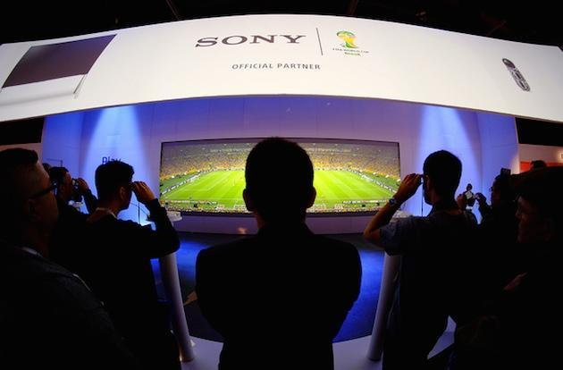 Sony to stream two World Cup matches in 4K at a London cinema